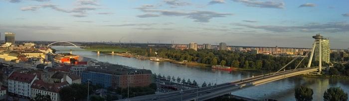 Bratislavské mosty cez Dunaj