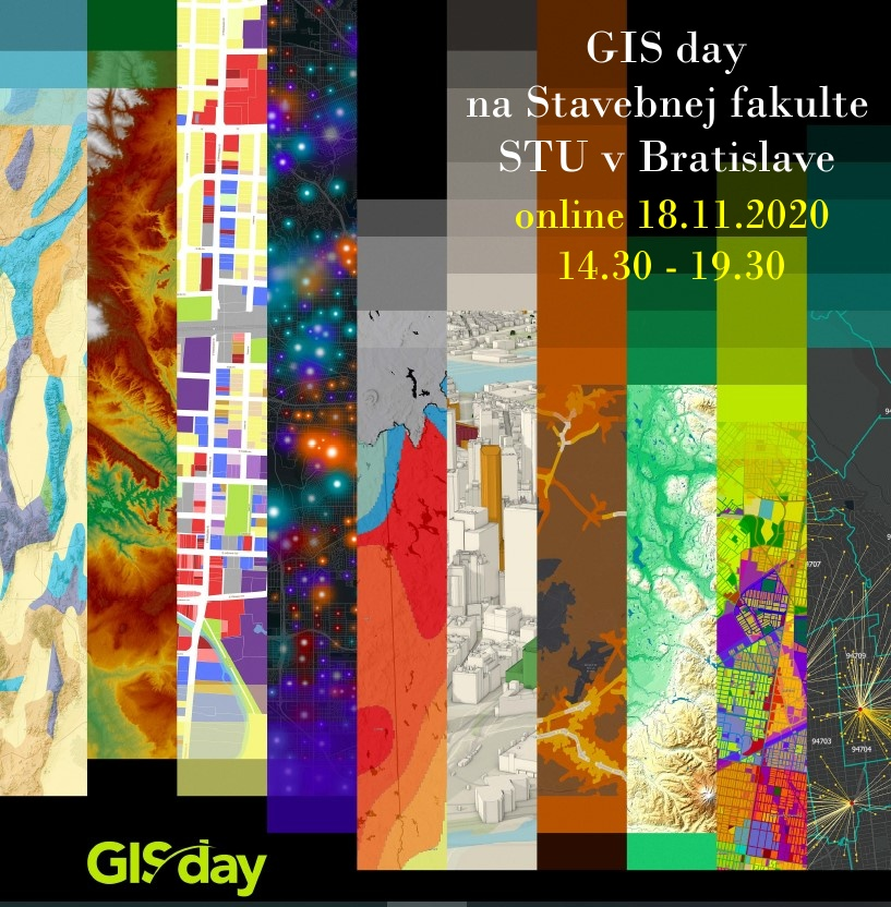 Plagát GIS day